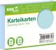 RNK Verlag Karteikarten - DIN A7, blanko, blau, 100 Karten