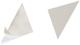 Dreiecktasche Cornerfix®, 125x125mm, sk., transparent, 8St.