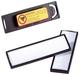 Namensschild CLIP CARD mit Magnet, 67 x 17 mm, 25 Stück
