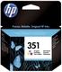 Original HP Druckkopfpatrone color (CB337EE,CB337EE#ABB,CB337EE#ABD,351,351C,351COLOR,NO351,NO351C,NO351COLOR)