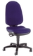 Topstar® Bürodrehstuhl M PRO 4 ohne Armlehnen royalblau