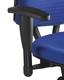 Armlehnen K2 höhenverstellbar (Paar) für Bürodrehstuhl ALUSTAR Basic schwarz