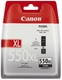 Original Canon Tintenpatrone schwarz pigmentiert (6431B001,550PGBKXL,PGI-550PGBKXL)