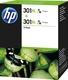 Original HP Druckkopfpatrone color High-Capacity Doppelpack (D8J46AE,301XL,301XLC,301XLCOLOR,NO301XL,NO301XLC,NO301XLCOLOR)